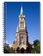 Church Of Ferencvaros In Budapest Spiral Notebook