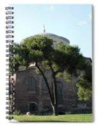 Church Of Hagia Eirene I - First Courtyard Topkapi Palace Spiral Notebook