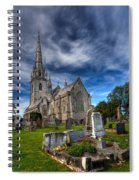 Church Of Marble Spiral Notebook