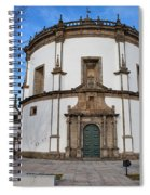 Church Of Monastery Of Serra Do Pilar In Portugal Spiral Notebook