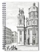 Church Of Notre Dame, Salzburg Spiral Notebook