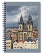 Church Of Our Lady Before Tyn - Prague Spiral Notebook
