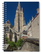 Church Of Our Lady In Bruges Spiral Notebook