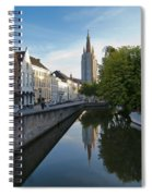Church Of Our Lady Reflection Spiral Notebook