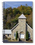 Church Of Rock Spiral Notebook