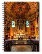 Church Of Saint Agnes Spiral Notebook