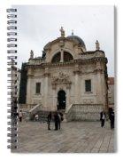 Church Of St. Blasius Spiral Notebook