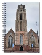 Church Of St Lawrence In Rotterdam Spiral Notebook
