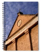 Church Of The Apostle Nathanael Bartholomew In Cana Spiral Notebook