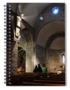 Church Of The Assumption Of Mary In Bossost Spiral Notebook