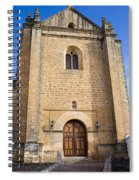 Church Of The Holy Spirit In Spain Spiral Notebook