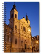 Church Of The Holy Spirit In Warsaw Spiral Notebook