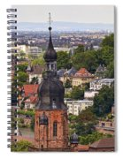 Church Of The Holy Spirit Steeple Spiral Notebook
