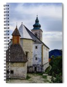 Church Of The Mother Of God Spiral Notebook