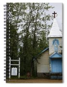 Church On Alaskan Highway Spiral Notebook