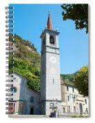 Church On Main Square, Varenna, Lake Spiral Notebook