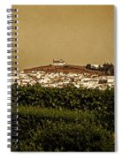 Church On The Hill - Andalusia Spiral Notebook