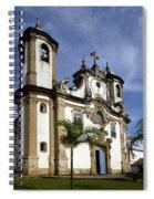 Church Ouro Preto Brazil 5 Spiral Notebook