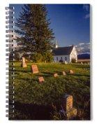 Church Potlatch Idaho 1 Spiral Notebook