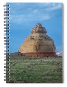 Church Rock On The Road To Moab Spiral Notebook
