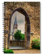 Church Ruins In Boppard Germany Spiral Notebook
