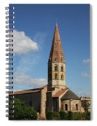 Church Saint Marcel - Cluny Spiral Notebook