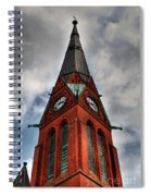 Church Spire Hdr Spiral Notebook