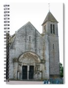 Church St Thibault- Burgundy Spiral Notebook