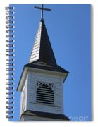 Church Steeple In Buckley Washington Spiral Notebook