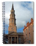 Church Street In Charleston Sc Spiral Notebook