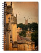 Churches In Town Spiral Notebook