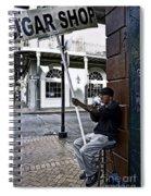Cigar Shop On Bourbon Street New Orleans Spiral Notebook