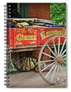 Cigar Wagon Spiral Notebook