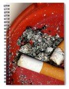 Cigarette Butts Spiral Notebook