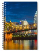 Cincinnati Downtown Spiral Notebook