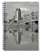 Cincinnati Monochrome Spiral Notebook