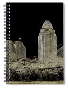 The Queen City Cincinnati Ohio Spiral Notebook