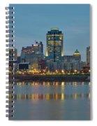 Cincinnati On The Riverfront Spiral Notebook
