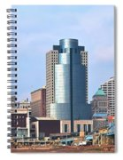 Cincinnati Panoramic Skyline Spiral Notebook