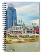 Cincinnati Reds Ballpark 9870 Spiral Notebook