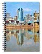 Cincinnati Reflects Spiral Notebook