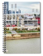 Cincinnati Riverfront 9870 Spiral Notebook