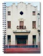 Cinema Cuba Spiral Notebook