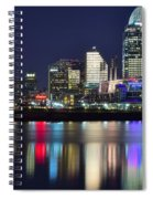 Cinicinnati At Dusk Spiral Notebook