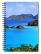 Cinnamon Bay St. John Virgin Islands Spiral Notebook