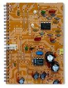 Circiruit Board Macro Spiral Notebook