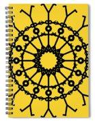 Circle 2 Icon Spiral Notebook