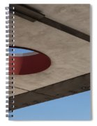 Circle Down  Spiral Notebook