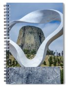 Circle Of Sacred Smoke  Spiral Notebook