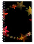 Circle Of Stars Spiral Notebook